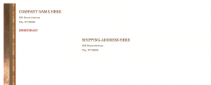 Realty Stylish Envelope Template for Pages