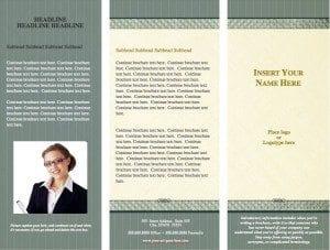 Timeless Legal Brochure Template