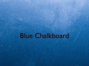 bluechalkboard