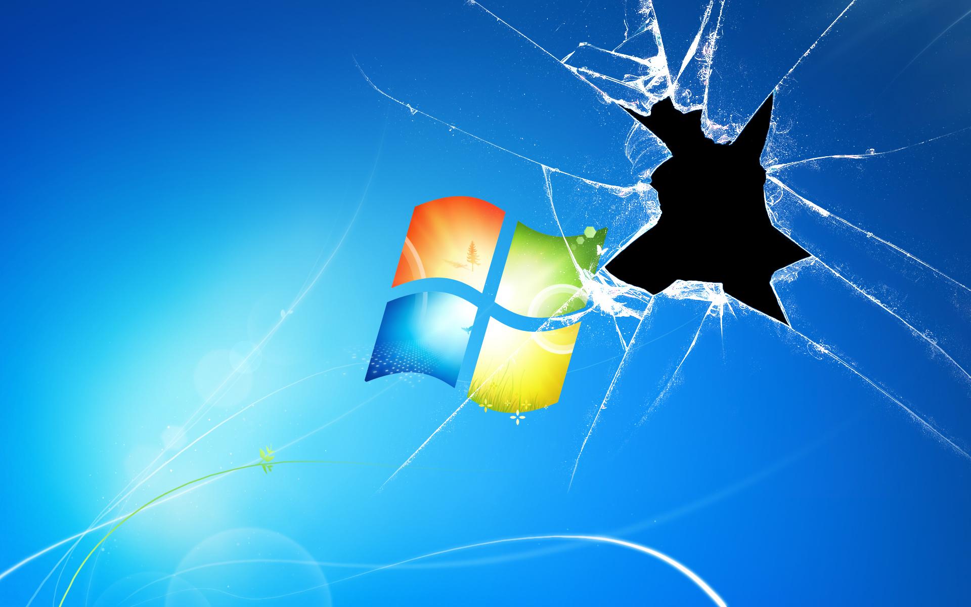 broken window keynote template