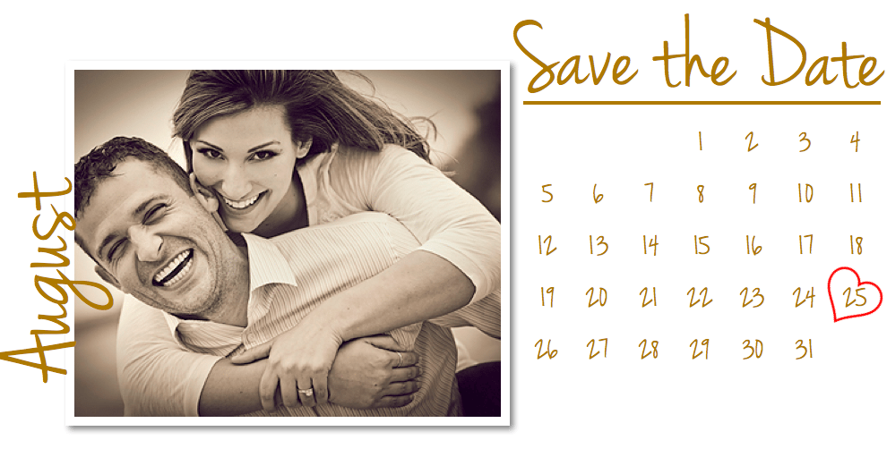 Pages wedding save the date card template free iwork for Online save the date template free