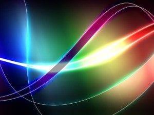 Neon Lines Keynote Template