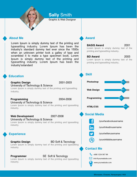 Diamond Image Resume Template For Pages Free Iwork Templates